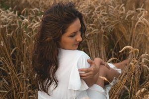 фотосесия в пшеница
